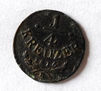 Uhry 1/4 Krejcar 1816 B František II.