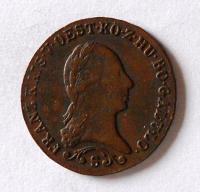 Uhry 1 Krejcar 1812 S František II. Stav