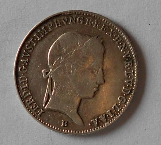 Uhry 10 Krejcar 1846 B Ferdinand V.