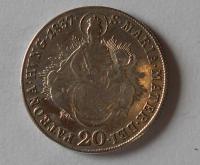 Uhry 20 Krejcar 1837 B Ferdinand V.
