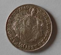 Uhry 20 Krejcar 1842 B Ferdinand V.