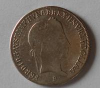 Uhry 20 Krejcar 1845 B Ferdinand V. - měl ouško