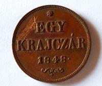 Uhry Egy Krejcar 1848 Ferdinand V.