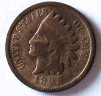 USA 1 Cent 1895 Indián