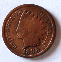 USA 1 Cent 1898 Indián