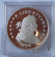 USA 1 Dolar 1804 Ag novoražba