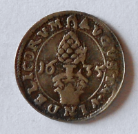 Augšpurk Krejcar 1635