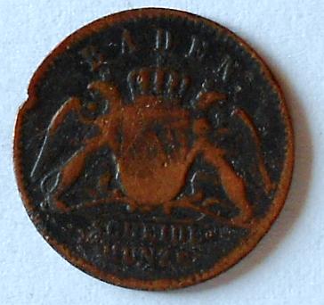Baden 1/2 Krejcar 1859