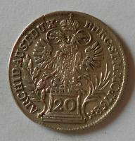 Čechy 20 Krejcar 1758 Praha Marie Terezie
