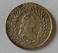 Čechy 20 Krejcar 1759 PR Fr. Lotrinský