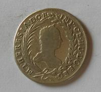 Čechy 20 Krejcar 1760 Praha Marie Terezie