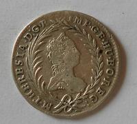Čechy 20 Krejcar 1763 Praha Marie Terezie