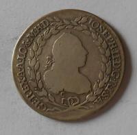 Čechy 20 Krejcar 1769 C Josef II.