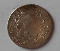 Čechy 20 Krejcar 1783 C Josef II. Měl ouško