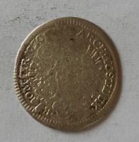 Čechy 3 Krejcar 1730 Praha Karel VI.