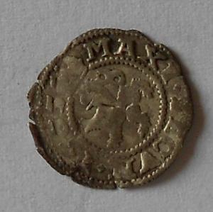 Čechy Bílý peníz 1565 Maxmilián II.