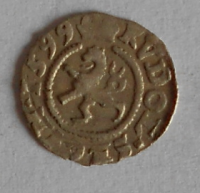 Čechy Bílý peníz 1599 Rudolf II.