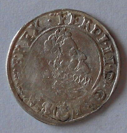 Čechy-Praha 3 Krejcar 1626 Ferdinand II.
