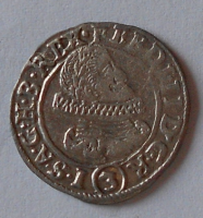 Čechy-Praha 3 Krejcar 1636 Ferdinand II.
