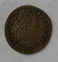 Čechy-Praha 3 Krejcar 1708 Josef I.