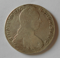 Čechy Tolar 1780 PSIK Marie Terezie