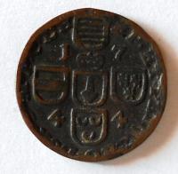 Falc Sulzbach 1 Liard 1742-99 Karel Theodor