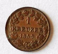 Hessen 1 Krejcar 1859