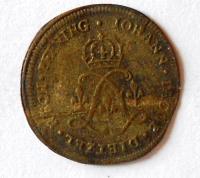Norimberk početní peníz 17. stol.