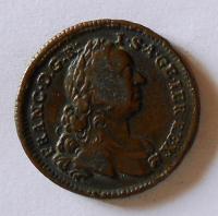 Rakousko 1 Krejcar 1762 W František Lotrinský