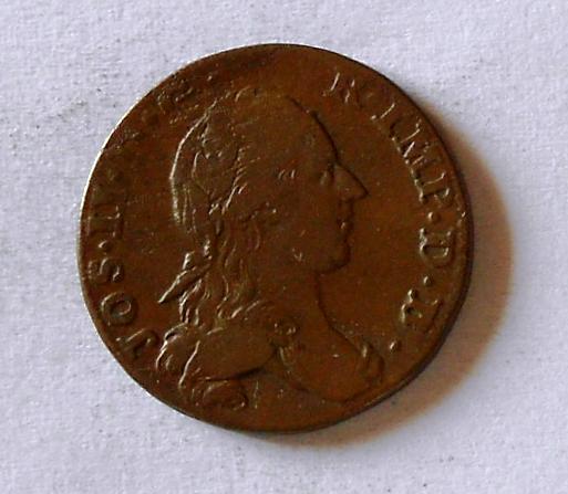 Rakousko 1 Liard 1792 Josef II.