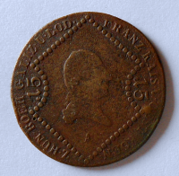 Rakousko 15 Krejcar 1807 A Fratnišek II.
