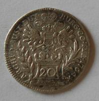 Rakousko 20 Krejcar 1764 Marie Terezie