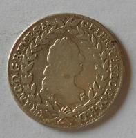 Rakousko 20 Krejcar 1765 WI Fr. Lotrinský