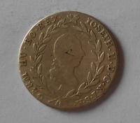 Rakousko 20 Krejcar 1781 A Josef II.