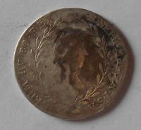 Rakousko 20 Krejcar 1783 A Josef II.