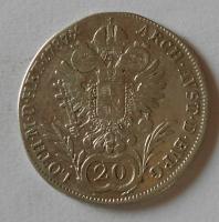 Rakousko 20 Krejcar 1787 A Josef II.