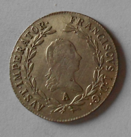 Rakousko 20 Krejcar 1817 A František II.