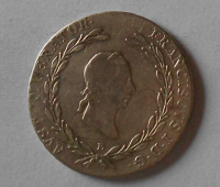 Rakousko 20 Krejcar 1827 E František II.