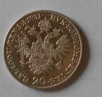 Rakousko 20 Krejcar 1831 A František II. Stav