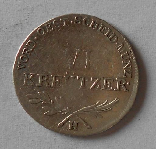 Rakousko 6 Krejcar 1793 H František II.