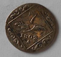 Rakousko 7 Krejcar 1802 A František II.