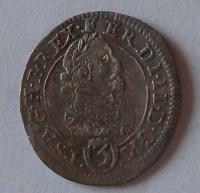 Rakousko-Gratz 3 Krejcar 1624 Ferdinand II.