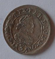 Rakousko-Gratz 3 Krejcar 1628 C Ferdinand II.