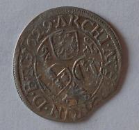 Rakousko-Gratz 3 Krejcar 1629 Ferdinand II.