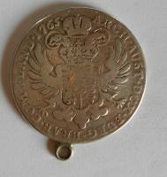 Rakousko Tolar 1765 Marie Terezie dobové ouško
