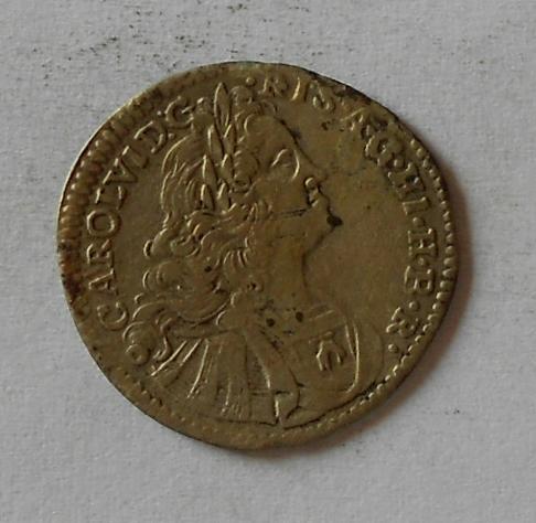 Slezsko 3 Krejcar 1727 Vratislav Karel VI.