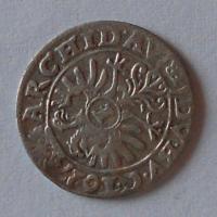 Slezsko-Vratislav 1 Krejcar 1627 Ferdinand II.