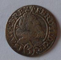 Slovensko-Vratislav 3 Krejcar 1629 Ferdinand II.