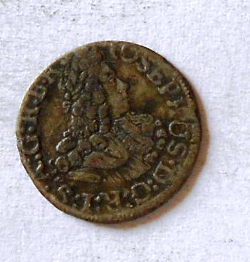 Tyroly 1 Krejcar bez letopočtu 1705-11 Josef I.