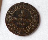 Uhry 1 Krejcar 1812 B František II.